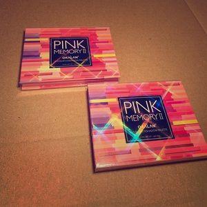 OKALAN pink memory 2 eyeshadow palette